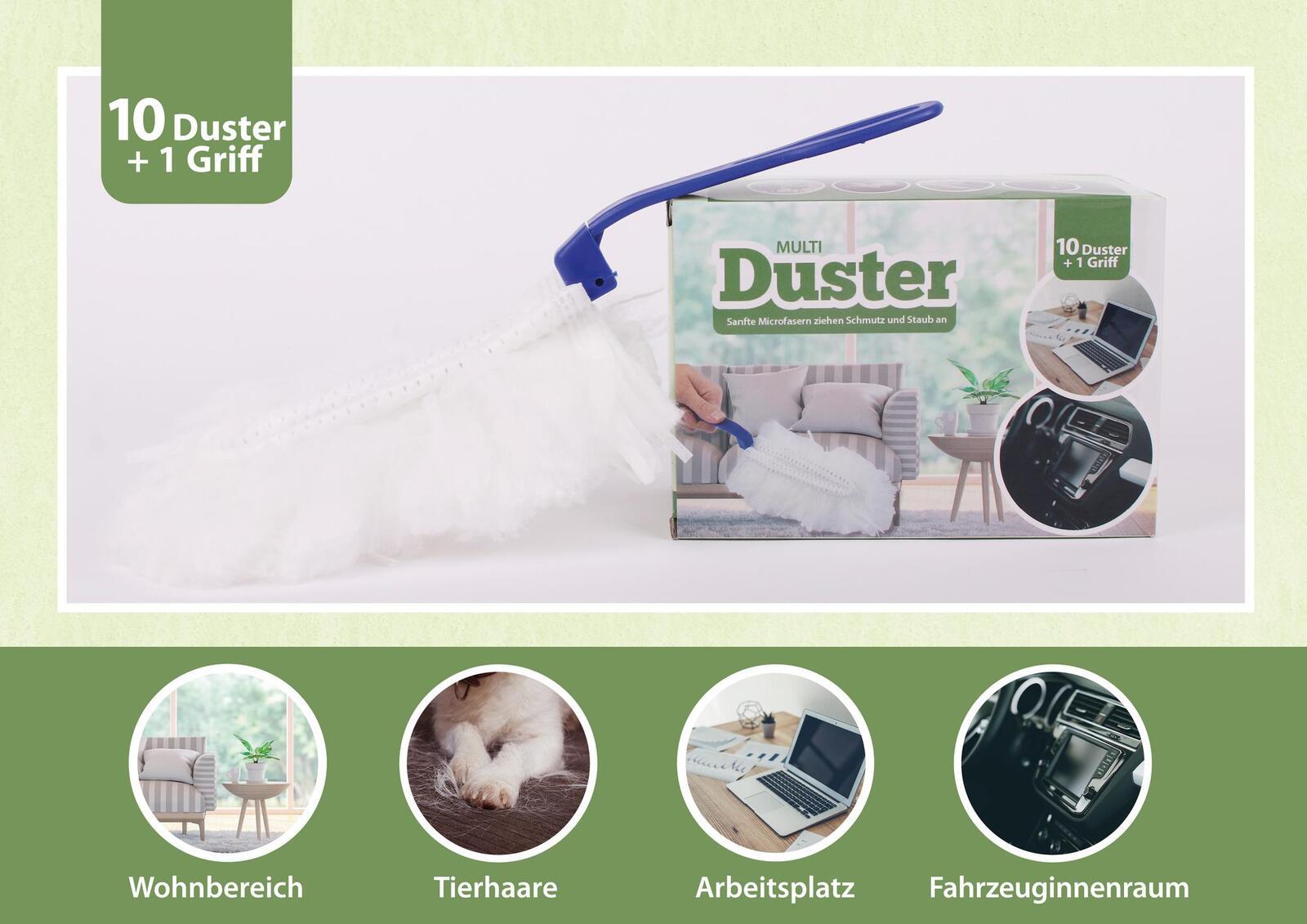 Duster Set Staubmagnet