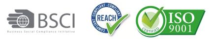 BSCI-REACH-ISO-9001