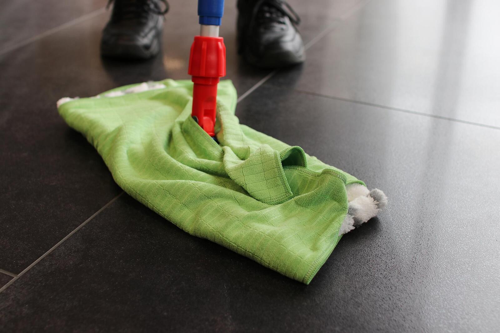 Microfasertuch für den Boden